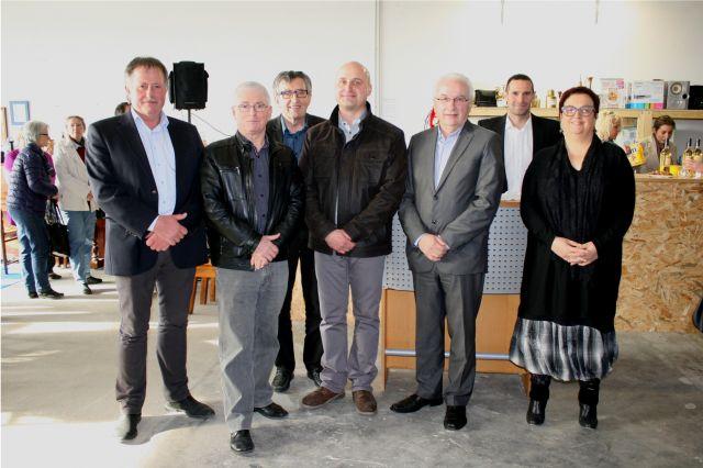 Inauguration Landes Ressourcerie article réalisé par Christelle COROLLEUR